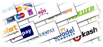 Zahlungsmethoden im Online Casino